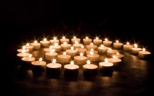 Espiral de velas